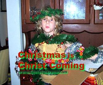 Christmas is Christ Coming