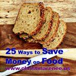 25 Ways to Save Money on Food