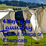 4 Ways to Do Laundry Cheaply without Soaps or Chemicals