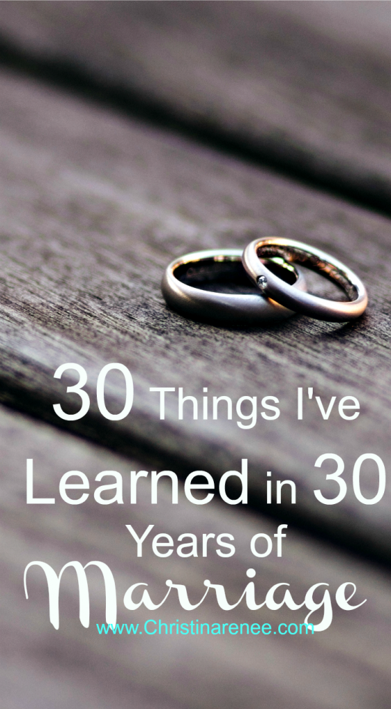 30 Things I've Learned in 30 Years of Marriage part 3