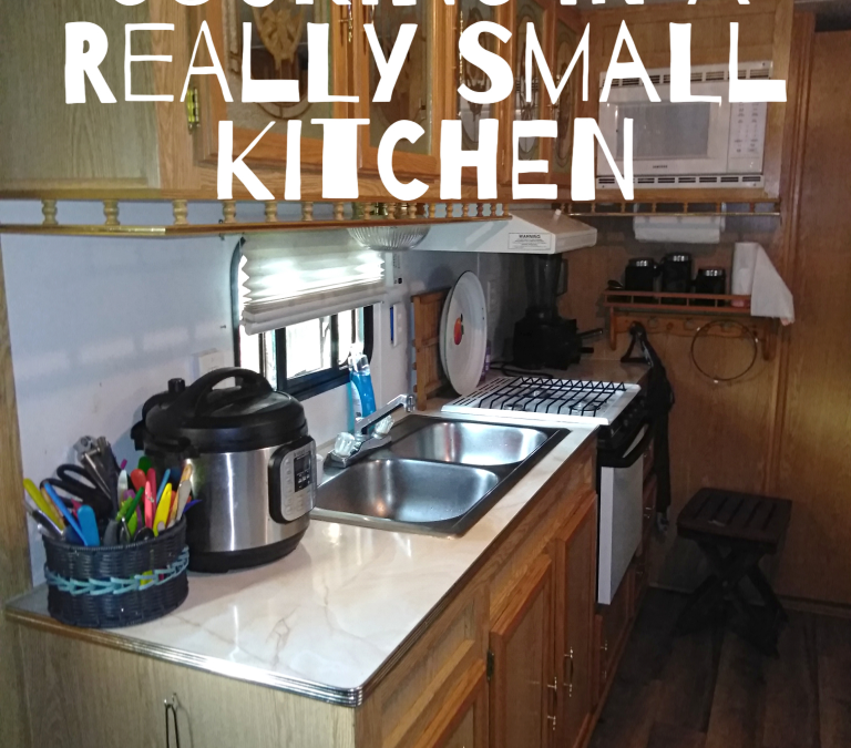 Cooking in a Really Small Kitchen