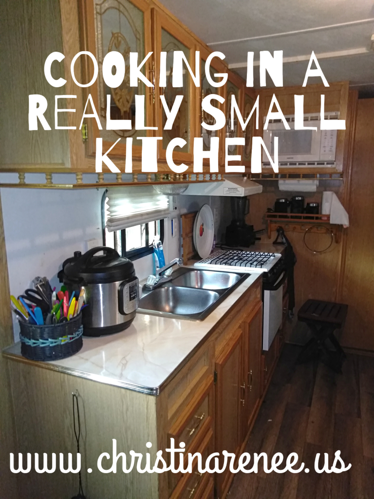 I learned so many tips  cooking in our small camper kitchen!